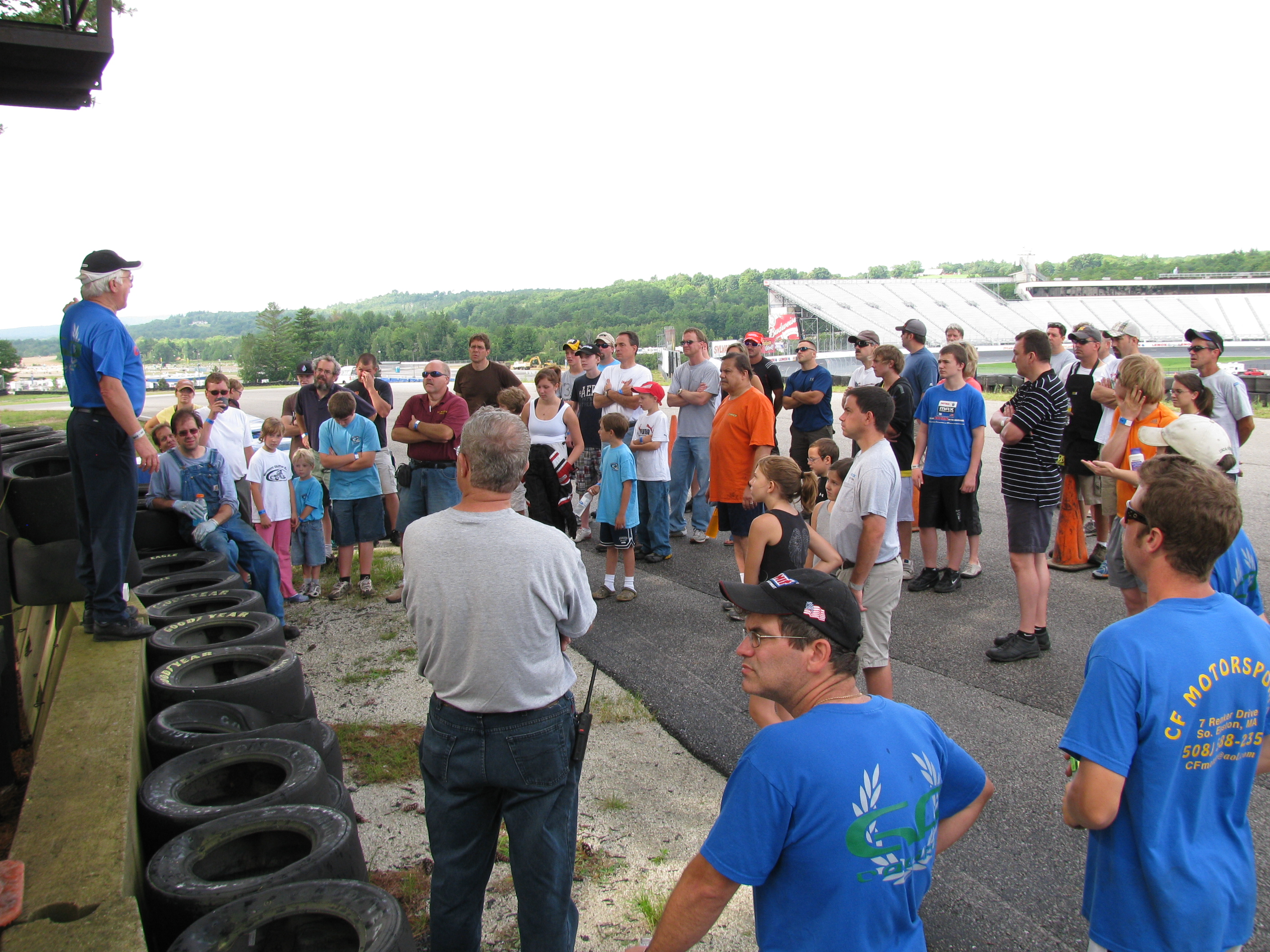 Morning Drivers Meeting
